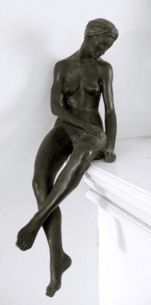 Evening: one third life size, bronze